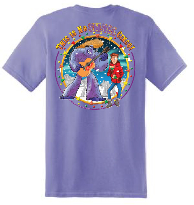 G.BIGFOOT UNISEX PURPLE TEE